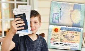 Visa, Passport VA� Nha�?ng A?ia�?u Ca?�n Bia??t